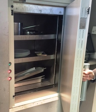 The dumbwaiter Logico® EXPO in Milan